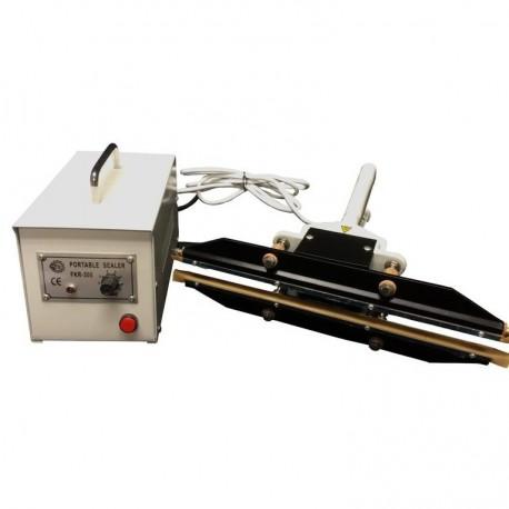 Máquina de impulso para sellar bolsas. Selladora de pinza FKR 200A.