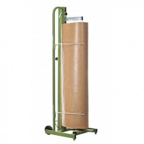 Portabobinas de papel KRAFT. Portarrollos industrial.