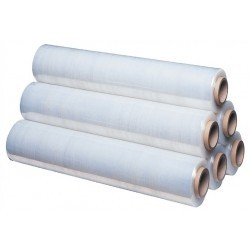 Film extensible estirable manual blanco (6 rollos)