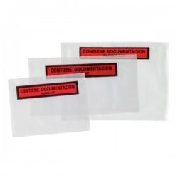 "Sobre Packing-List 180x140 ""Contiene documentación"" - 1000 unidades"
