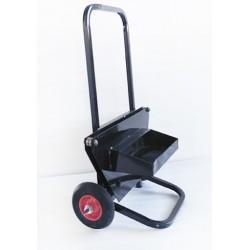 Carro devanador portabobinas de fleje de acero eco
