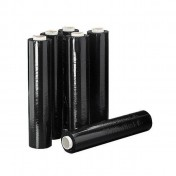 Film extensible estirable manual negro (6 rollos)