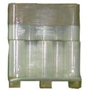 Palet de film extensible estirable automático transparente