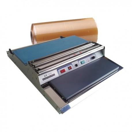 Envolvedora de bandejas KW-450 y bobina de film estirable alimentario