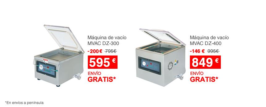 Máquinas de vacío en oferta
