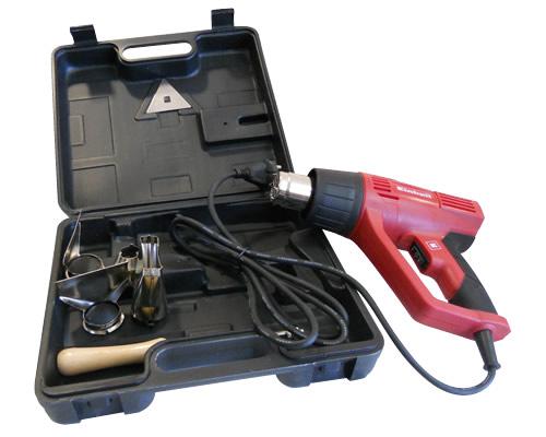 Retractiladora con maletin para pistola de calor