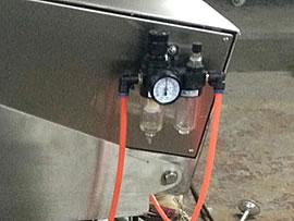 Selladora neumática con aire comprimido